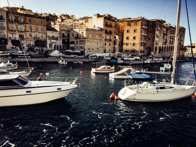 Malta Harbour Altstadt