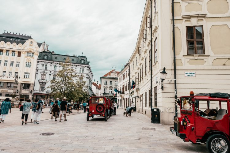Bratislava Altstadt lifestylecircus A-Rosa