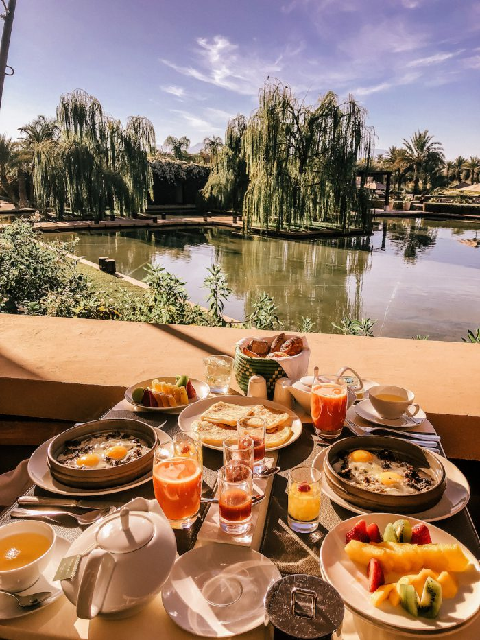 Mandarin Oriental Marrakech Breakfast Spot