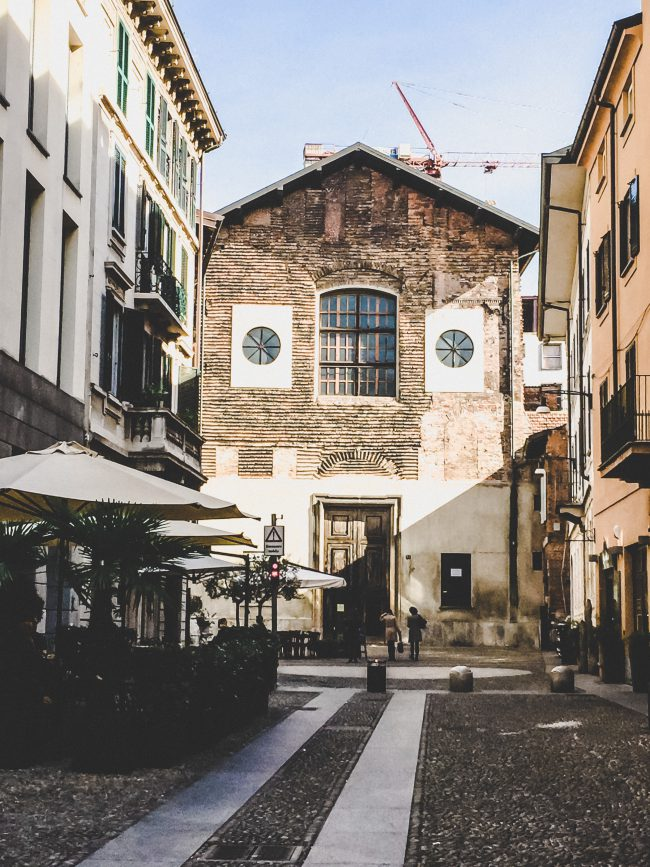 Milano Brera Altstadt