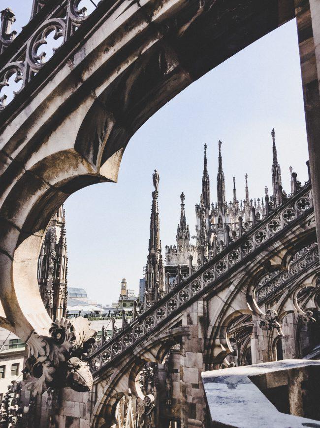 Milano Duomo Details