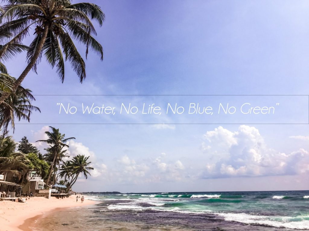 No Water No Life No Blue No Green