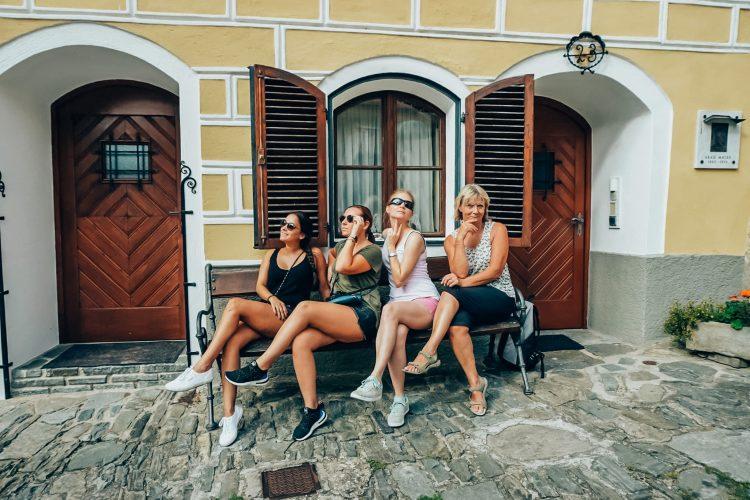 A-Rosa Blogger Crew Fahrradtour