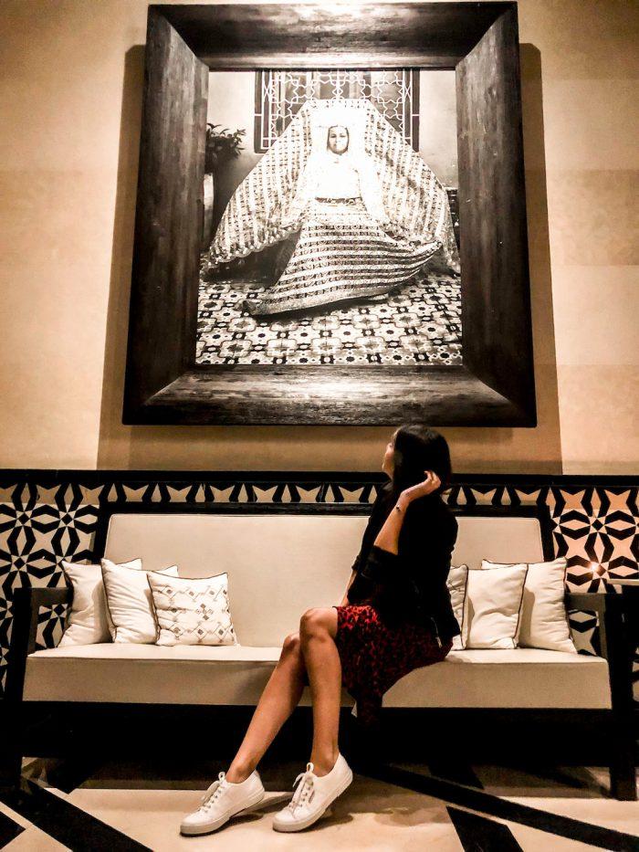 Mandarin Oriental Lobby ART