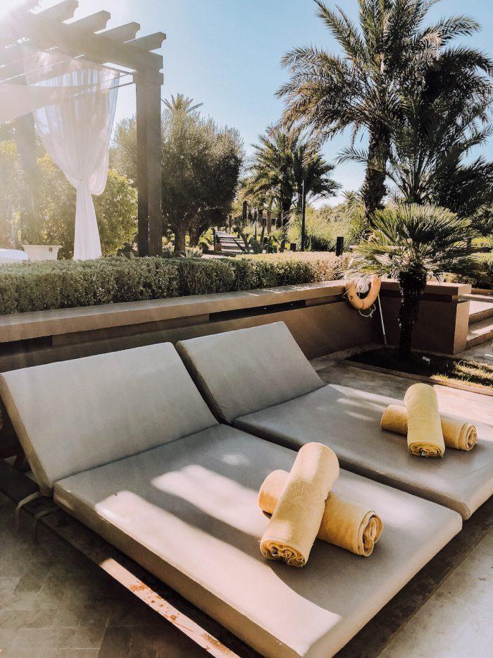 Mandarin Oriental Marrakech Pool Sundes