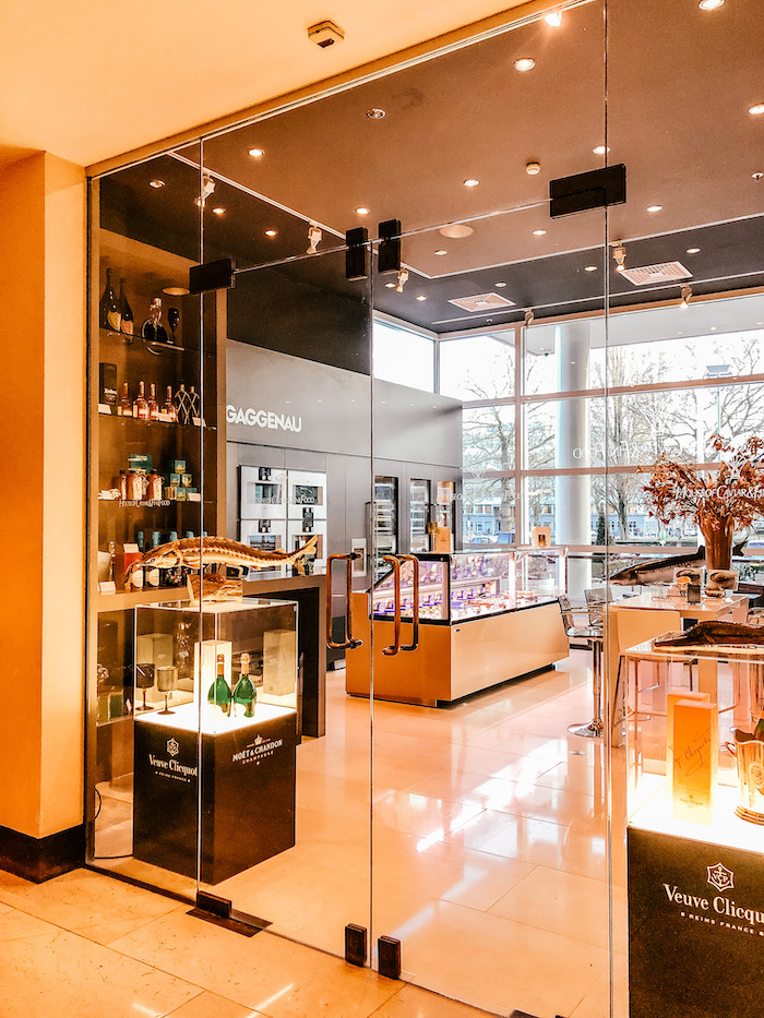 Caviar Bar Hilton Hotels Amsterdam