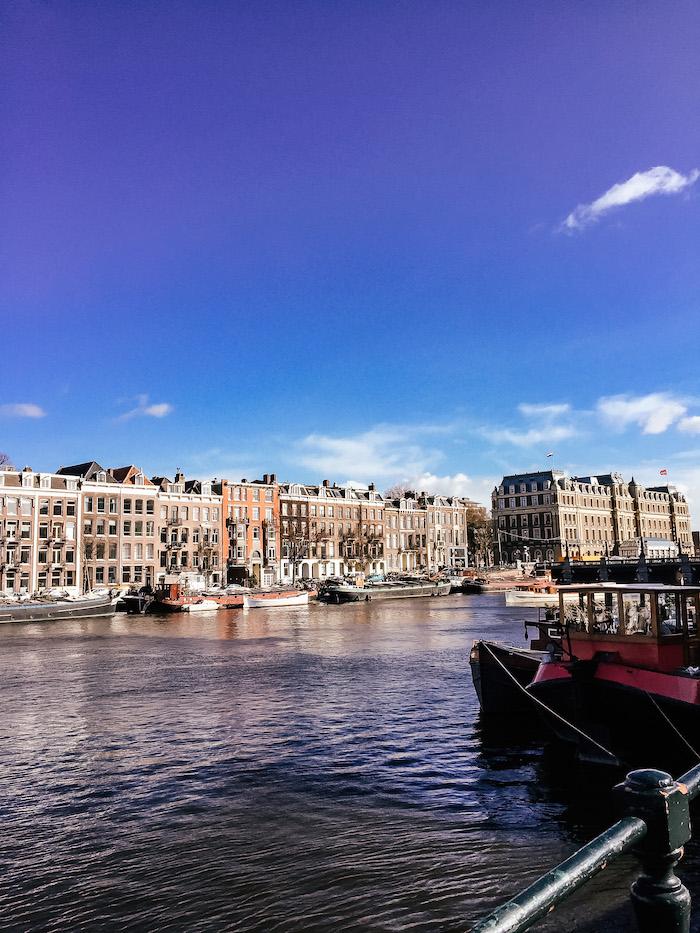 Amsterdam Grachten Kanal