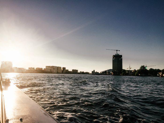 Grachten Amsterdam Boot