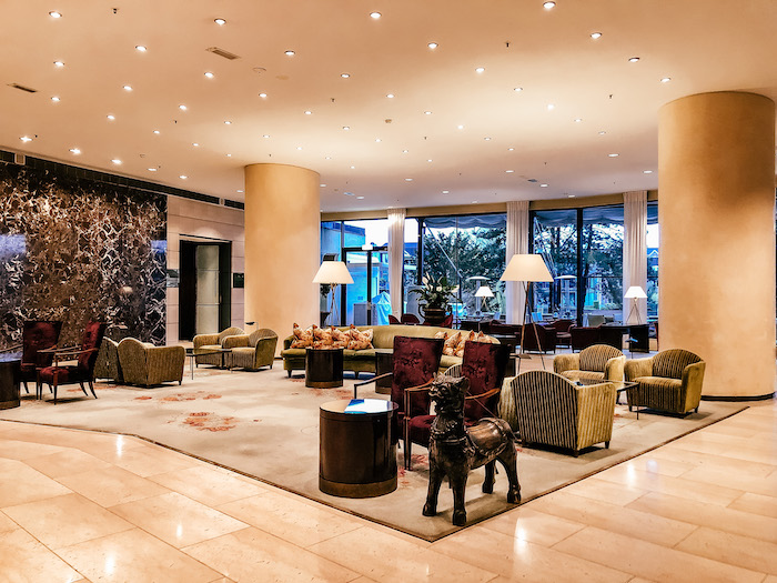Amsterdam Hilton Hotels Lobby Architecture